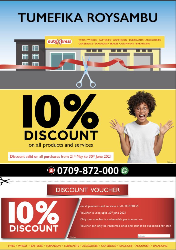 AutoXpress Roysambu Opening offer