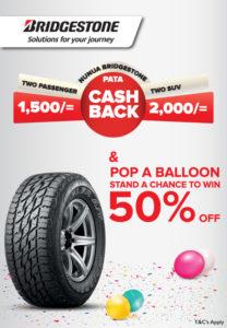 Bridgestone Tyres Offer